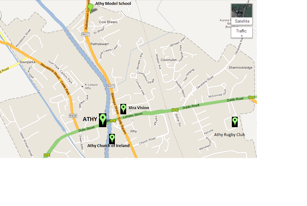 Athy Map